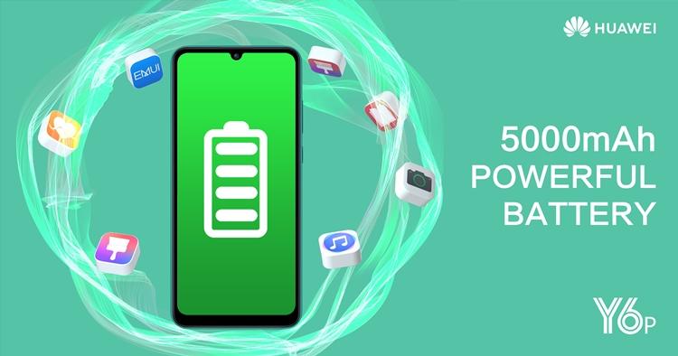huawei y6p battery